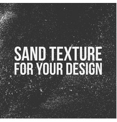 Sand texture for your design vector
