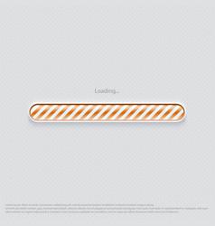 loading web design orange vector image vector image