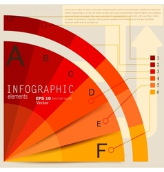 Set of Infographic elements Design template vector image vector image