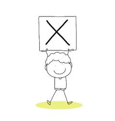 happiness alphabet vector image vector image