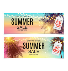 Abstract summer sale vector