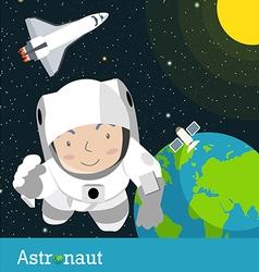 Astronauts spaceman vector
