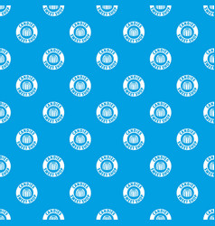 Candies sweet shop pattern seamless blue vector