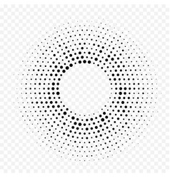 circle halftone geometric dotted gradient pattern vector image