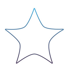 Degraded line nice bright star in the sky design vector