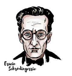 Erwin schroedinger vector