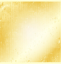 Gold grunge speckled background vector