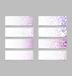 Modern abstract dot pattern banner background vector