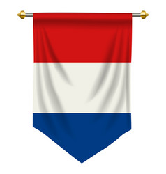 Netherlands pennant vector