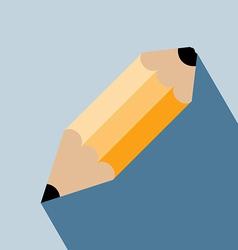 Pencil Head Icon vector