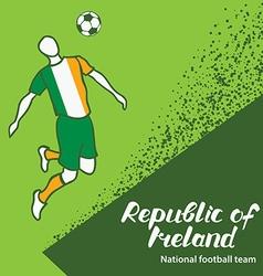 Republic of Ireland 4 vector image