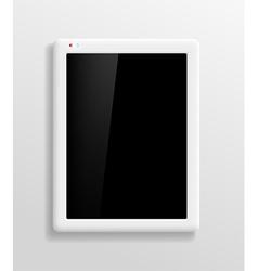 Tablet Screen vector image