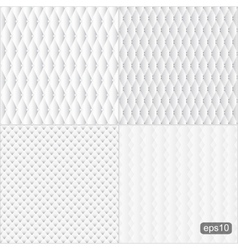 Upholstery seamless textures vector