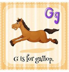 Gallop vector