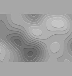 Geometric paper cut background vector