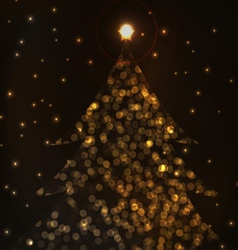 Most beautiful christmas trees vector