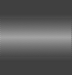 Perforated metal texture aluminium grating vector