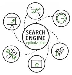 Search engine optimisation vector