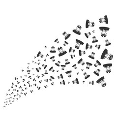 soldier source stream vector image