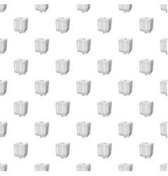 Toilet water tank pattern vector