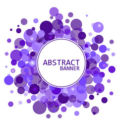 abstract background for design circles frames vector image