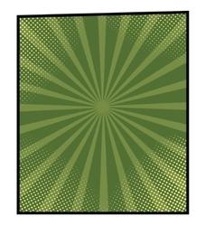 cartoon bang-8 vector image