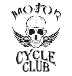 set of vintage bikers logo vector image vector image