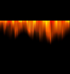 abstract orange and yellow gradient stripes vector image