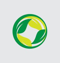 beauty spa cosmetics logo vector image