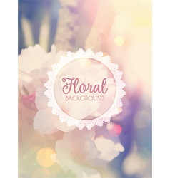 floral background 1305 vector image