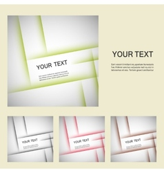 Set color line elements vector