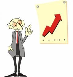 cartoon businessmen vector image