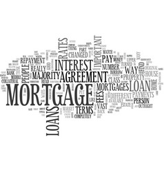 Anatomy of a home equity loan text word cloud vector