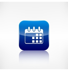 Calendar organizer icon date symbol vector