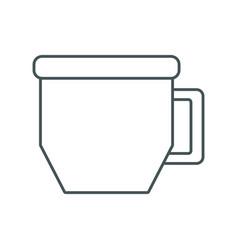 coffee mug cup vector image