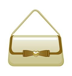 icon purse vector image