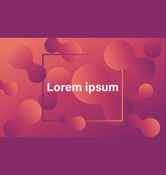 Modern orange gradient background vector