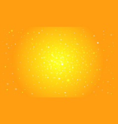 orange digital background vector image