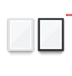 Set of modern picture frames vector