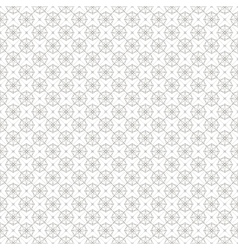 Vintage geometric line seamless pattern background vector image vector image