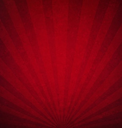 Red Luxury Sunburst Background vector image vector image