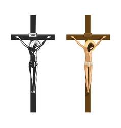 Crucifixion jesus christ religion vector