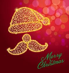 Merry christmassanta claus vector