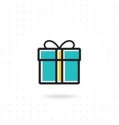present icon vector image