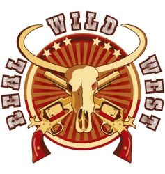 Real Wild West vector