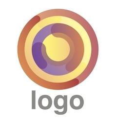 circles logo concept vector image