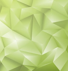 Crystal Green Background vector image vector image