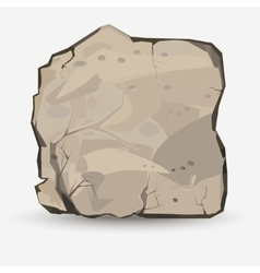 Big Rock stone vector image