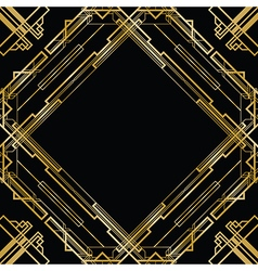 Gatsby square vector