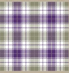 purple tartan plaid seamless pattern vector image